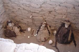 trouvaille de momies incas